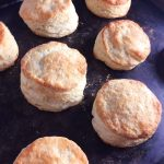 High-Rise Buttermilk Biscuits Supreme on a baking sheet