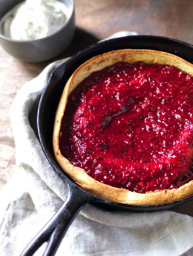 Brambleberry Lavender Dutch Baby
