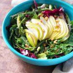 Tricolore Pear Salad